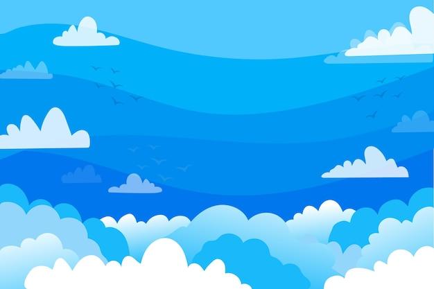 ビデオ会議用の空の背景 無料ベクター