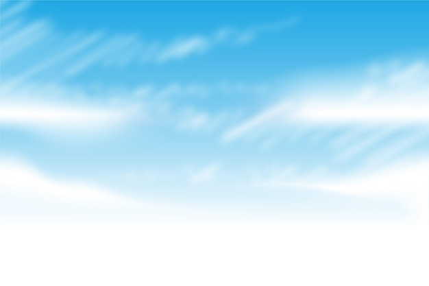 Sky background for video conference Free Vector