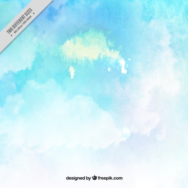 Sky watercolor background in abstract\ style