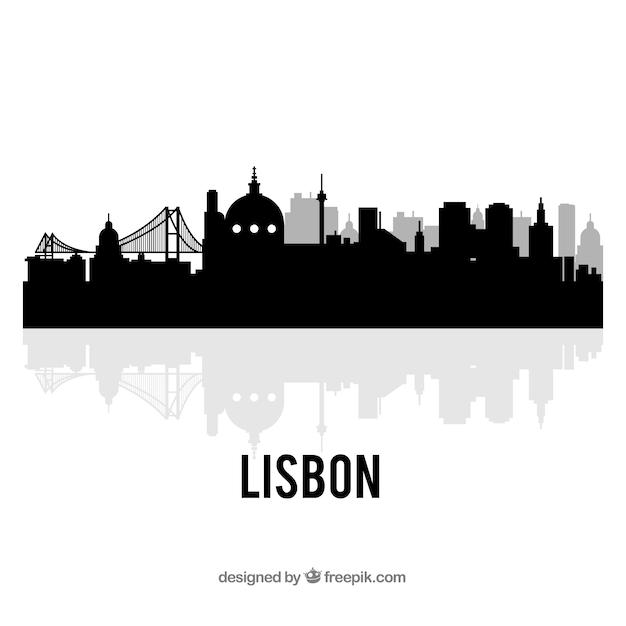 Free Download: Skyline of lisbon