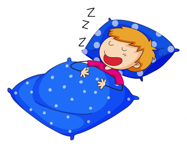 Sleeping Free Vector