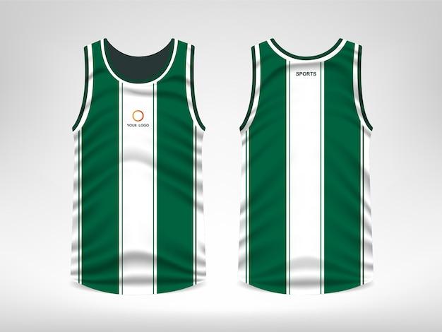 b9ee6e28e03540 Sleeveless sport t-shirt design Premium Vector