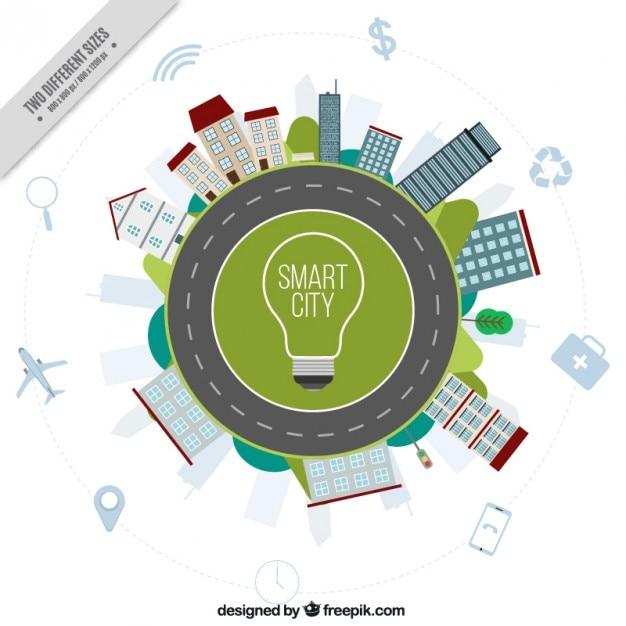 Car Electricity Circle