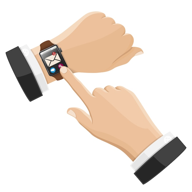 Smart watch Premium Vector