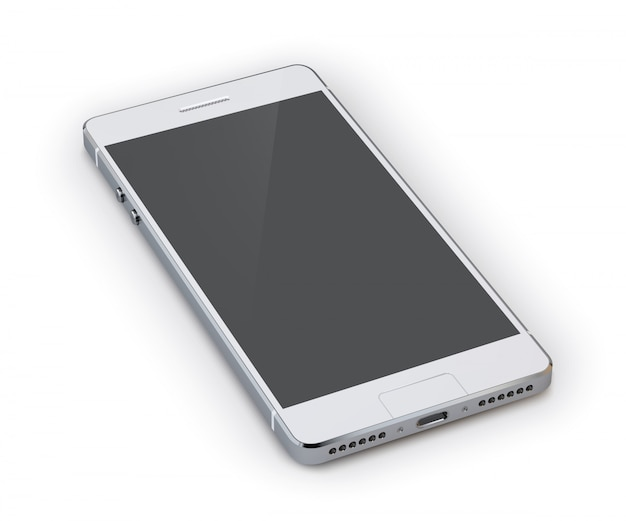 Smartphone 3d illustration Free Vector
