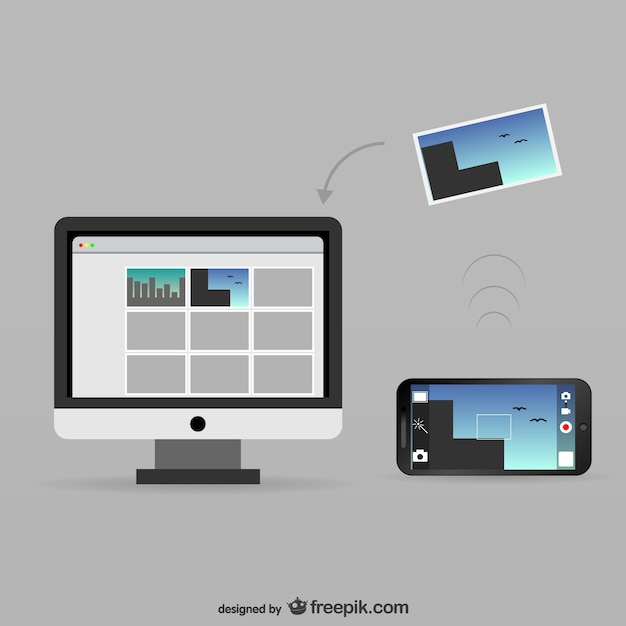 how to download photos from phone onto computer