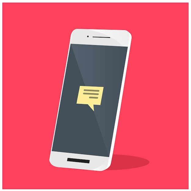 Смартфон Premium векторы