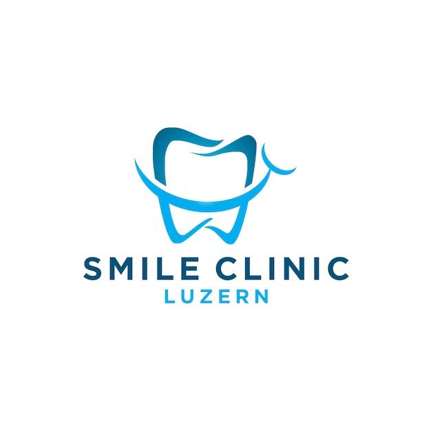 Smile dental logo Vector | Premium Download