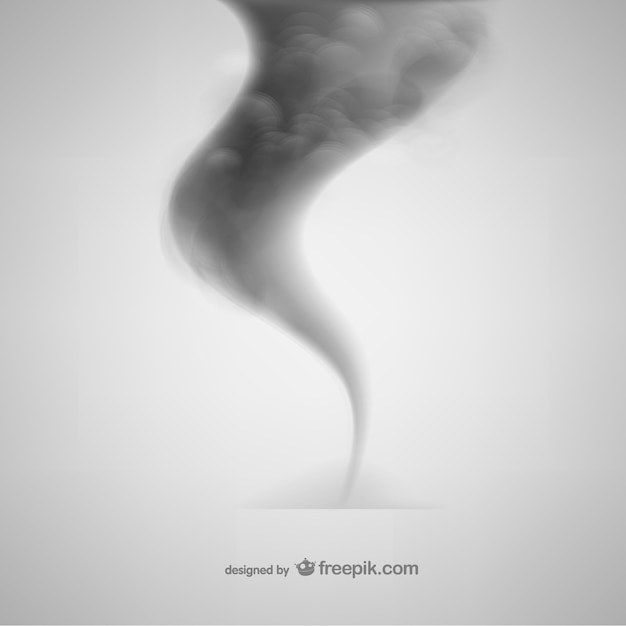 Smoke tornado Vector | Free Download