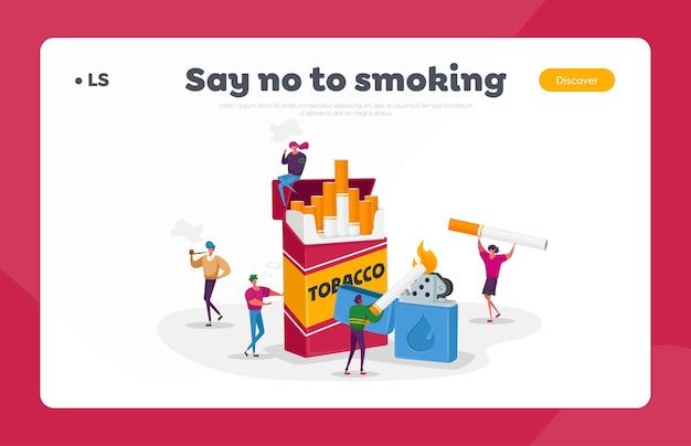 Курильщики и курение Premium векторы