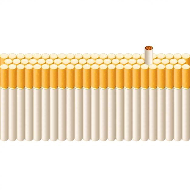 Курительная линия сигарет Premium векторы