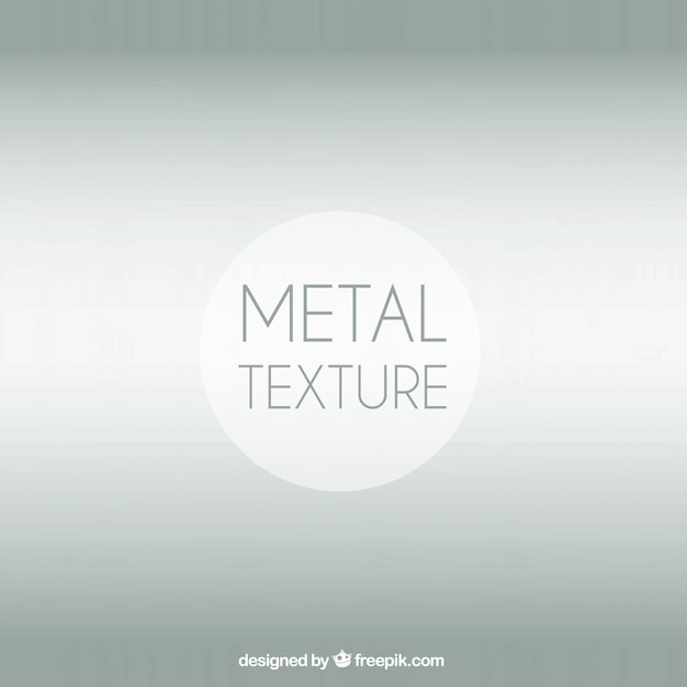 Smooth metal texture
