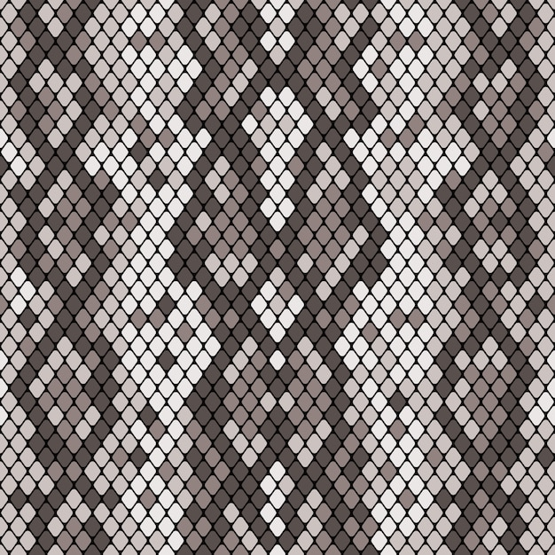 Snakeskin seamless pattern Premium Vector