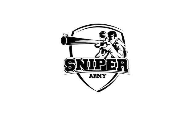 Sniper Premium Vector