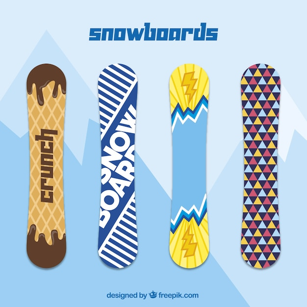 Snowboard collection