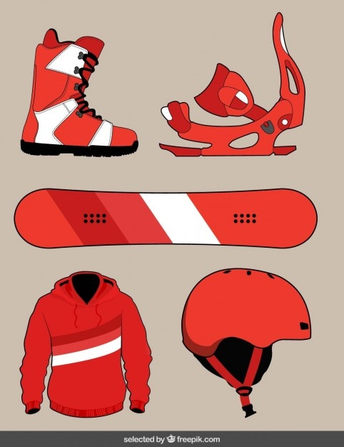 Snowboard equipment