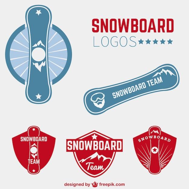 Snowboard logos