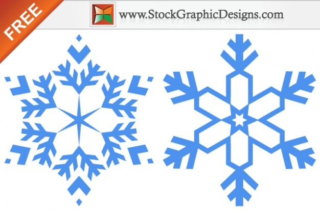 Snowflakes Free Vector Graphic Images Vector Free Download