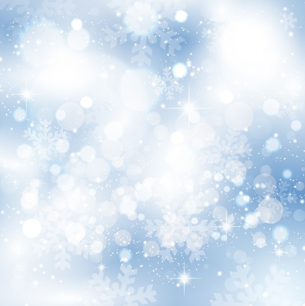 Snowflakes iced bright background Free Vector