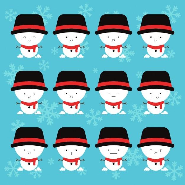 Snowmen, emotions