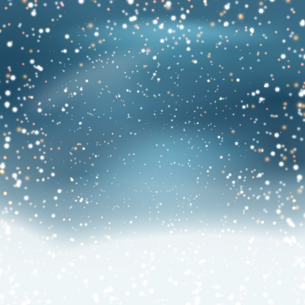 snowy blue background vector free download