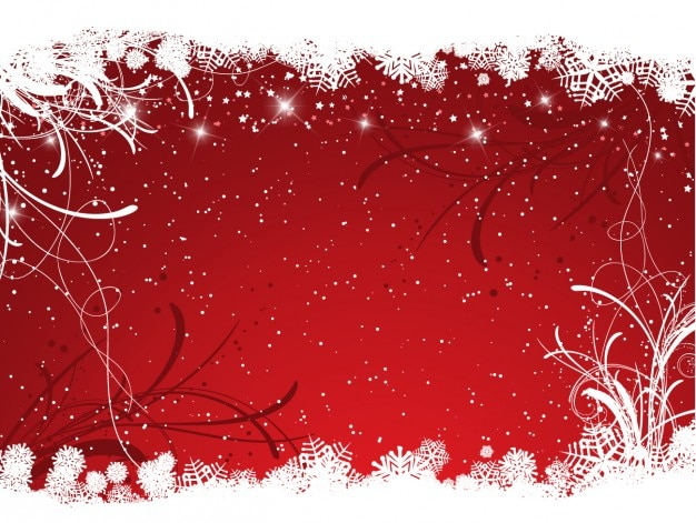 red christmas background ai - photo #2