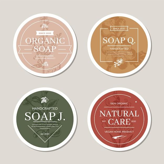 Soap logo template Free Vector
