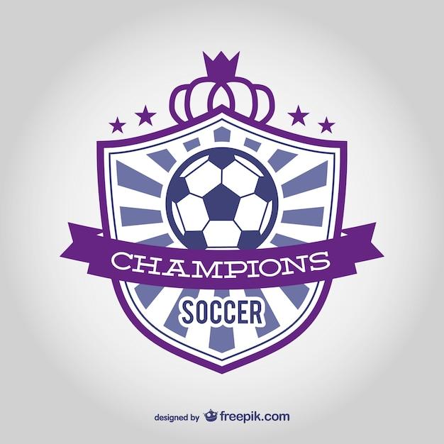 soccer club emblem vector vector free download