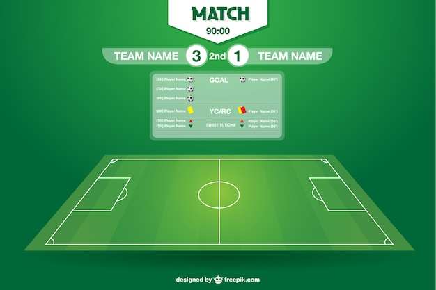 Soccer Field Vector Free Download