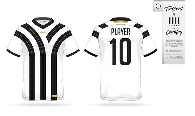 Soccer jersey or football kit template for football club. Vector ... 506741d70