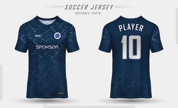 Футболка шаблон спортивной футболки дизайн Бесплатные векторы