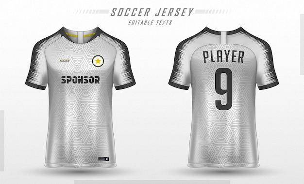 축구 유니폼 템플릿 스포츠 t 셔츠 디자인 무료 벡터