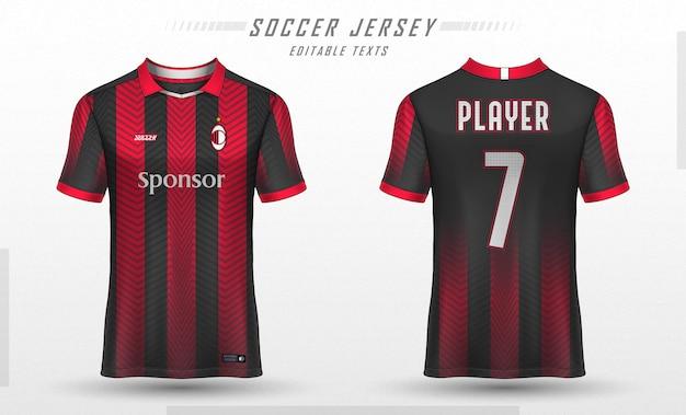 Download Mockup Jersey AC Milan
