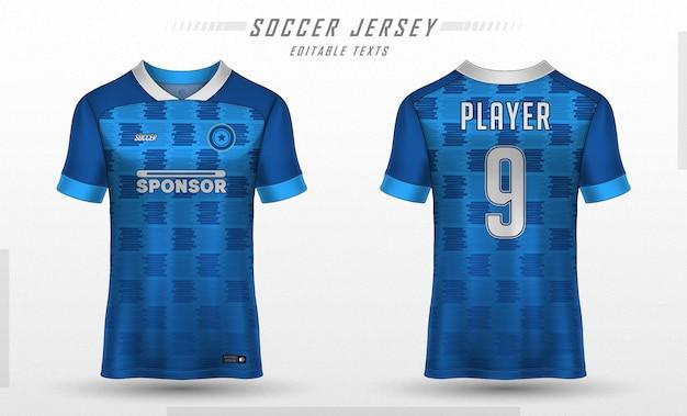 축구 유니폼 템플릿 스포츠 티셔츠 디자인 무료 벡터