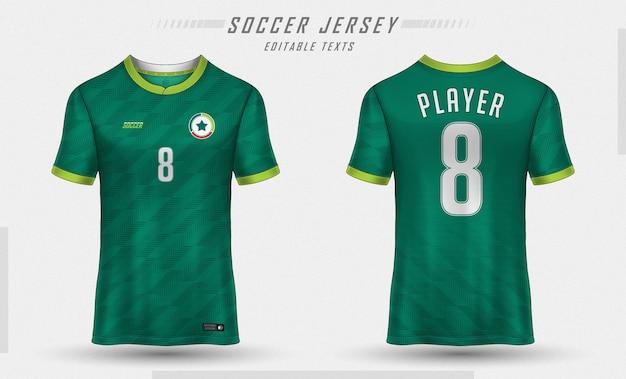 Maglia da calcio modello sport t shirt design Vettore gratuito