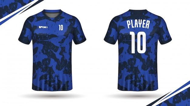 soccer jersey template sport t shirt design vector