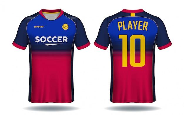 Soccer Jersey Templatesport T Shirt Design Vector Premium Download