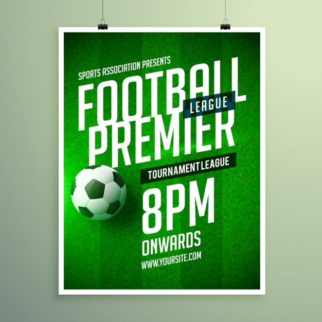 soccer poster vectors  photos and psd files