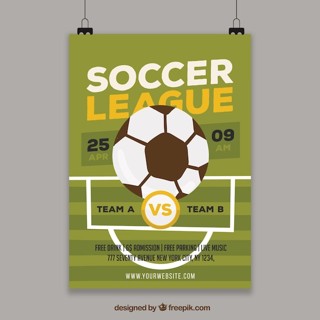 soccer league template