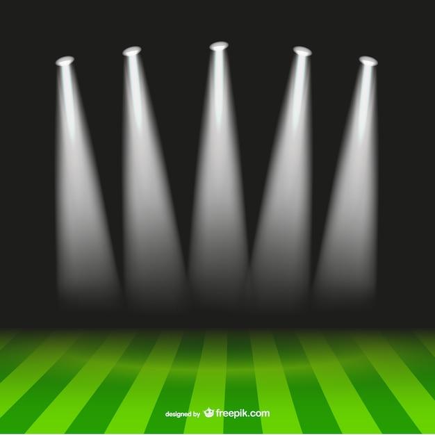Stadium Lights Svg