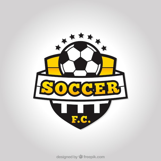 Soccer team logo Vector | Free Download