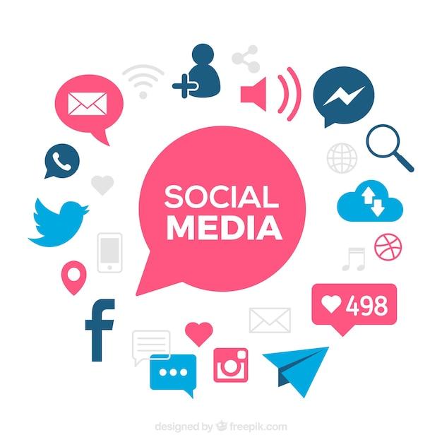social media clipart - Jaxstorm.realverse.us