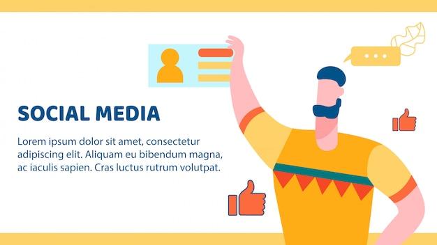 Social media banner Premium Vector
