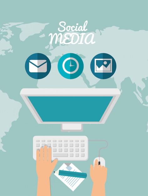 Social media design Premium Vector