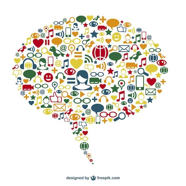 3 minute speech on social networks