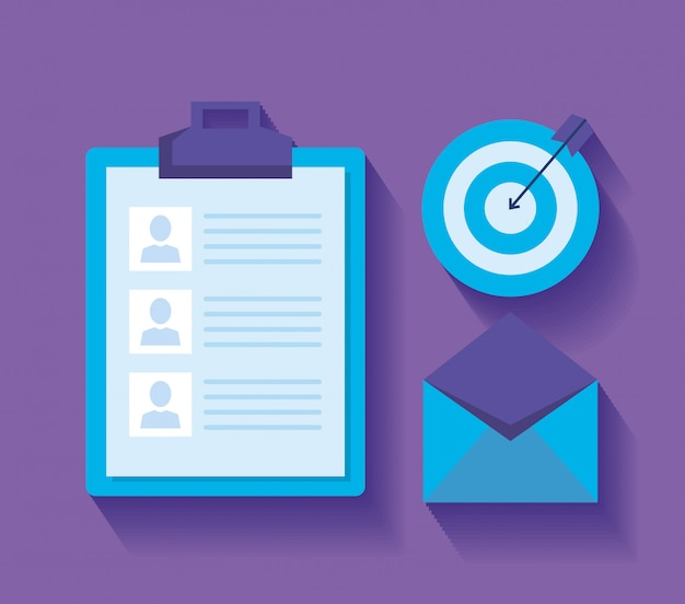 Creating list for marketing through emails