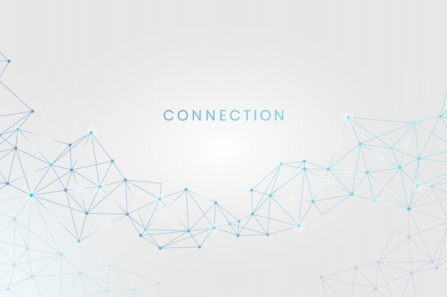 Social network connection Free Vector