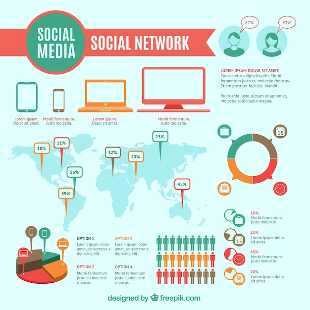social network infographic vector free download vector light bulb vec193 vector light bulb icon