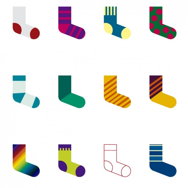 socks collection vector free download rh freepik com free vector file conversion free vector files for cnc router