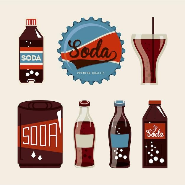 Soda design Premium Vector